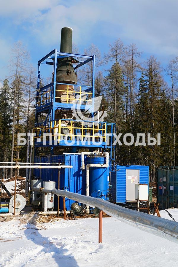 Комплекс утилизации сточных вод