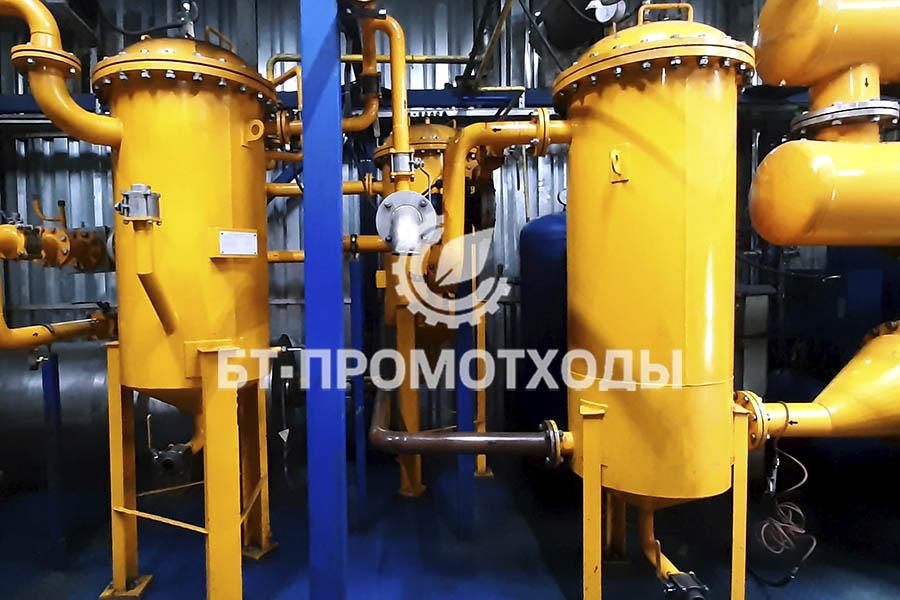Система фильтров установки пиролиза УТД-2