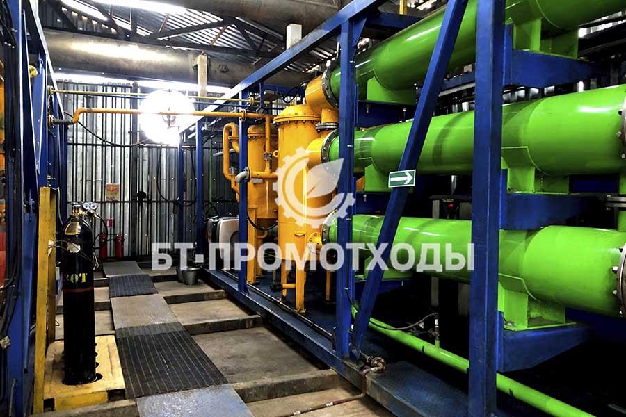 Установка непрерывного пиролиза отходов УТД-2