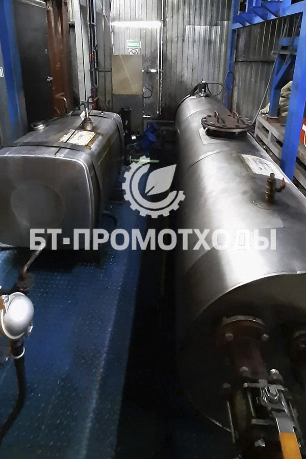 Бак готовой продукции для котельного топлива