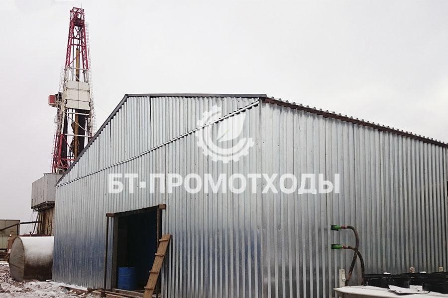 Блок технологического оборудования утилизации отходов