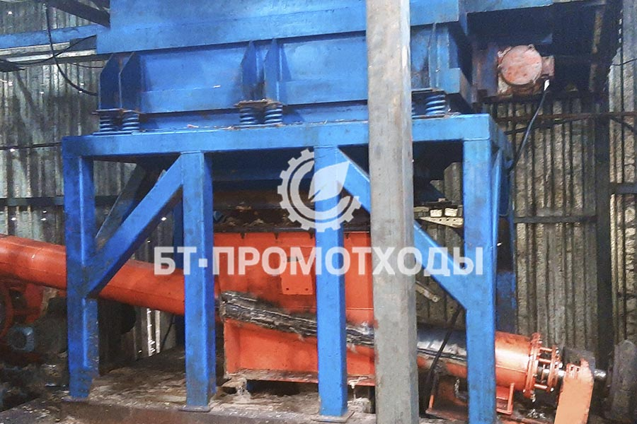 Бункер загрузки нефтесодержащих отходов УТД-2