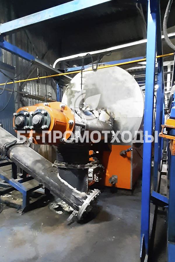 Дополнительный реактор пиролиза УТД-2