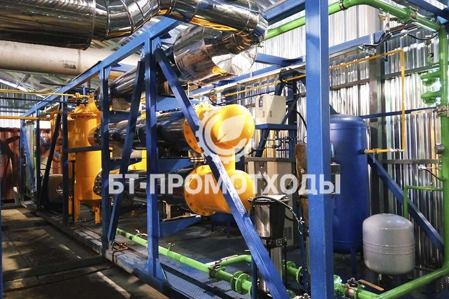 Мобильная установка утилизации нефтешлама