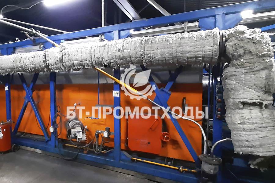 Высокопроизводительная печь переработки отходов УТД-2