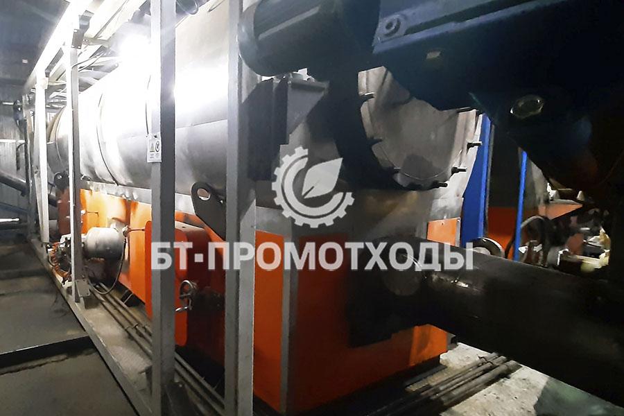 Печь утилизации отходов УТД-2