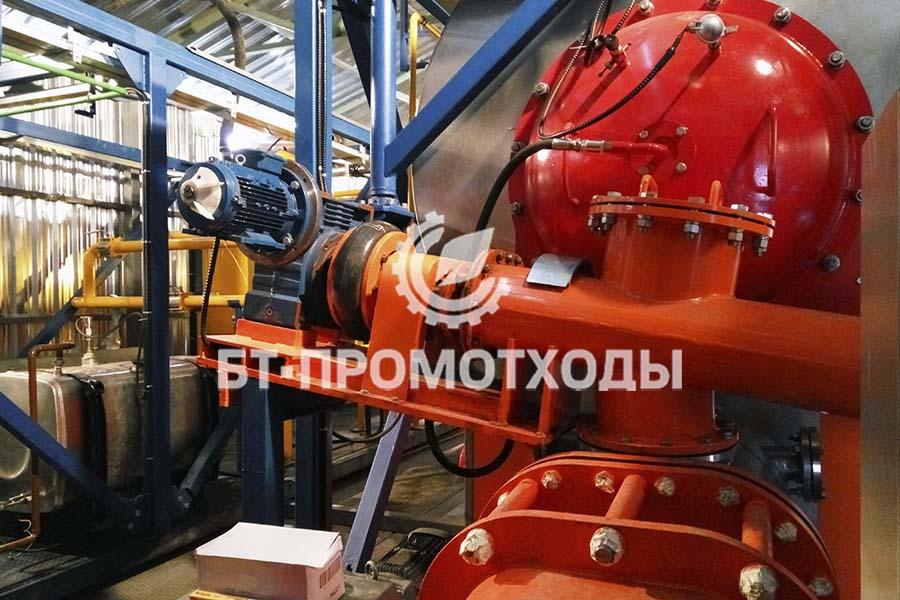Промышленная эксплуатация УТД-2