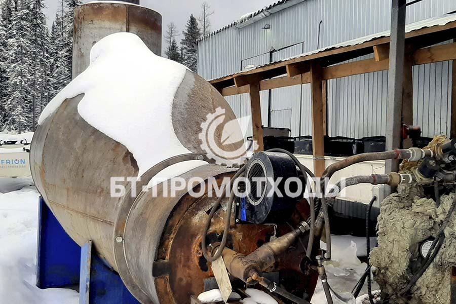 Система утилизации излишков пиролизного газа