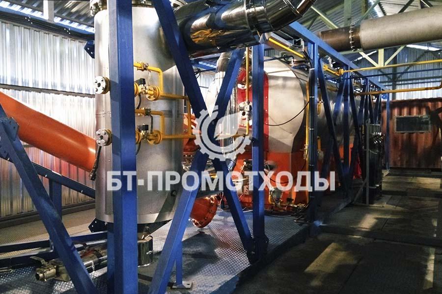Установка непрерывного пиролиза УТД-2