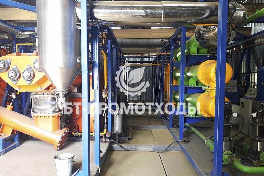 Установка термической деструкции УТД-2