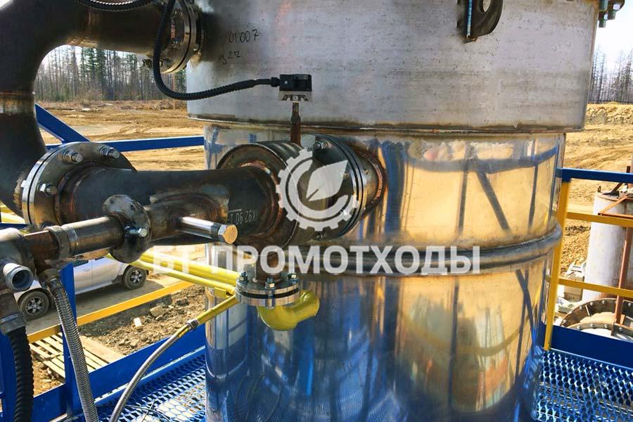 Утилизация сточных вод на месторождении