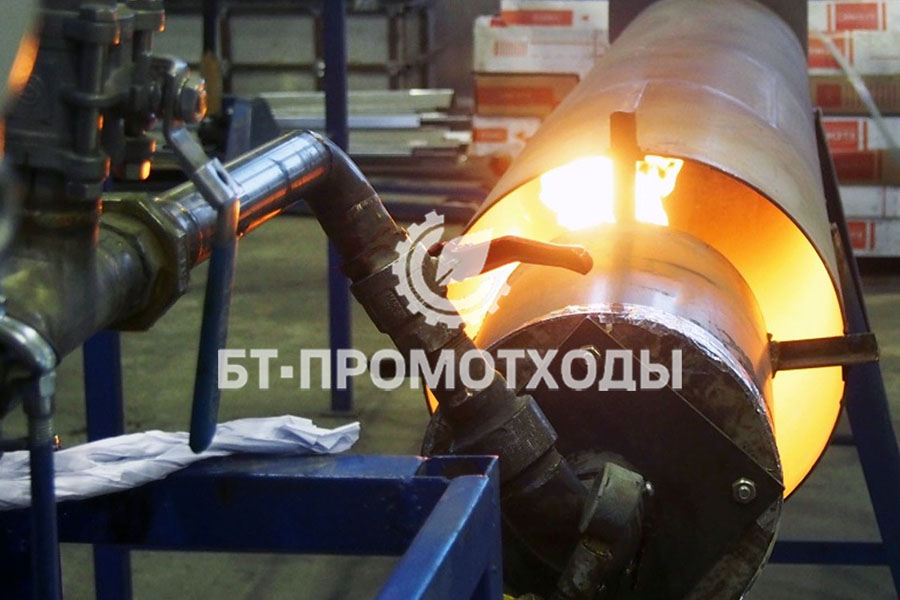 Продукт переработки - пиролизный газ